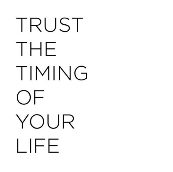 Timing of Your Life