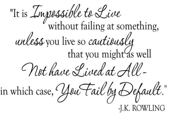 Failure J.K Rowling